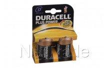Duracell plus - mn1300 - lr20 - d -1.5v - bl. 2pcs - MN1300