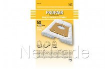 Philips - Sac aspirateur propair sydney/mobilo / s-bag  set 5+1f