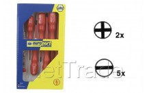 Europart - Tournevis assortiment 6 pcs+tester