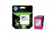 Hewlett packard - Hp ch564ee no.301xl hc ink cartridge tri-color - CH564EE