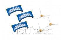 Irobot - Set de brosses (3pcs) + filtres  - 500/600aerovac - 4359690