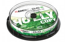 Emtec dvd-r 4,7gb 16x cb cakebox (10 st/pcs) - ECOVR471016CB