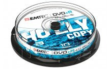 Emtec dvd+r 4,7gb 16x cb cakebox (10 st/pcs) - ECOVPR471016CB