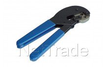 Hirschmann - Pince à sertir pour connecteur f sfc 012 pour pvc6 tri6 koka799 et pe6 - 606301002