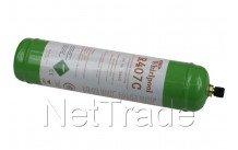 Whirlpool - Bouteille de gaz   r407c -1ltr   -  nouv. version - 481281719448