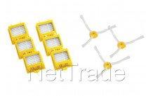 Irobot - Pack de 6 filtres et brosses latérales de la série 700 - 21986