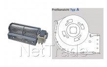 Aeg - Ventilateur tangentiel - 31w - droit 180mm - type a - 10019639