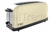 Russell hobbs - Grille-pain colours crème intemporel grille-pain avec 1 fente longue - 2139556