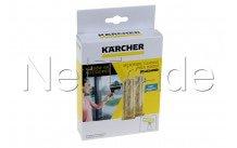 Karcher - Chiffon micro velcro jaune wv 2&5 >2017 (2 pcs) - 26331300