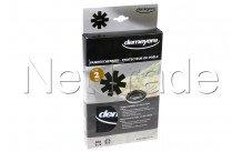 Demeyere - Protection pour poele 40x40 cm 2pcs vert - 99002