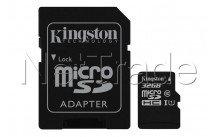 Kingston canvas select microsd uhs-i class 10 card 32gb - SDCS32GB