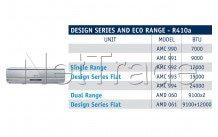Whirlpool - Airco unit amc991   h/c  r410c  9k btu/h