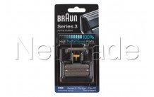 Braun - Combi pack flex integral (505) - serie 3 -31b -noi - 81387938