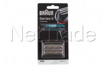 Braun - Combi pack / cassette de rasage - serie 5 - 52b - - 81631167