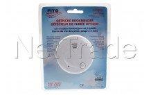 Fito - Opt. 9v rookmelder,incl 3x3v lithium celbatterijen - FIT128C