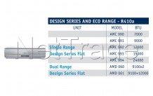 Whirlpool - Airco unit amc993    h/c r410a  18k btu/h -5.200w - 481281718859
