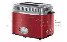 Russell hobbs - Grille pain -  - retro ribbon red - 2168056