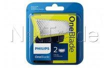 Philips tête de rasage de rechange oneblade qp220/55 - 2 pièces - QP22055