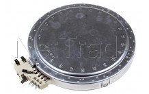 Electrolux - Plaque de cuisson céramique - 3 zones - d120 / 170 / 210 - 3051747016