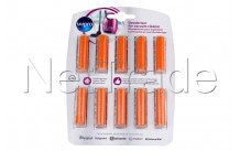 Wpro - 10 cartridges for vacuum cleaner floral - 484000008606