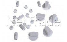 Universel - Kit de 5 boutons blanc universels - 228600066