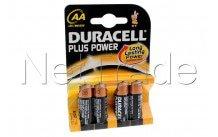 Duracell plus - mn1500 - lr06 - aa - 1.5v - bl.4pcs - MN1500