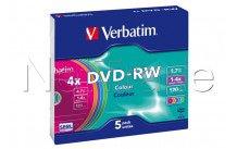 Verbatim colours - 5stuks d - 43563