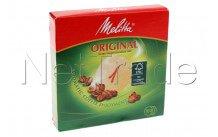 Melitta - Filtre a cafe - ronde - n°1 - diam. 94mm - 6629281