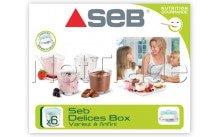 Seb - Jeu de pots yaourtiere - 6pcs - XF100101