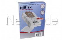 Nilfisk - Sac d'aspirateur  select /power/classic - emb. 4pcs - 107407639