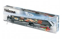 Tristar - Grill de table teppan yaki  xxl  1800w - thermosta - BP2984