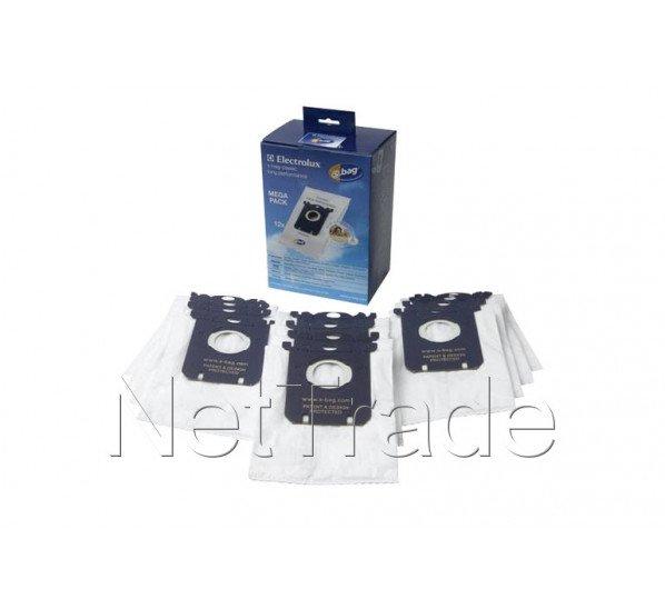 electrolux sac aspirateur s bag classic long perf e201m 12 pieces 9002560994. Black Bedroom Furniture Sets. Home Design Ideas