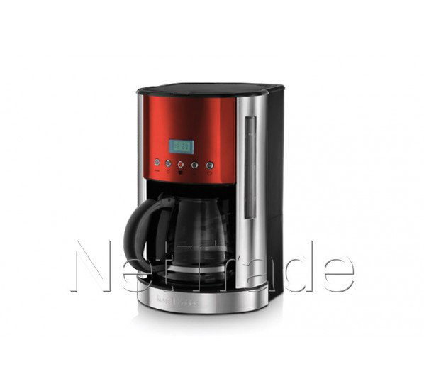 russell hobbs cafetiere jewels ruby red verseuse en verre cran lcd 1862656. Black Bedroom Furniture Sets. Home Design Ideas