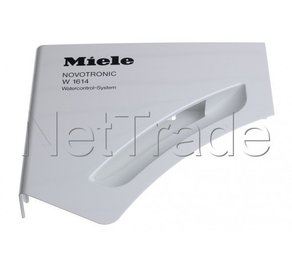 miele plaque poign e blanc loto w1614 7178230. Black Bedroom Furniture Sets. Home Design Ideas