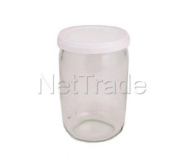 Seb jeu de 8 pots yaourtiere en verre 989641 - Yaourtiere seb 6 pots ...