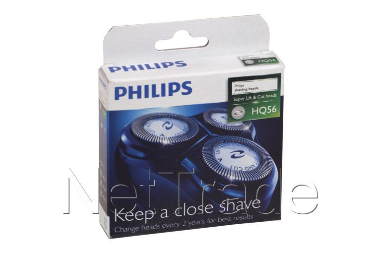Changer la tête de rasage d'un rasoir Philips